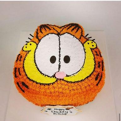 Garfield 加菲貓 吱花蛋糕