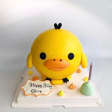 豬鼻雞扑爆蛋糕