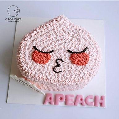kakao  Apeach Ryan  Neo 吱花蛋糕