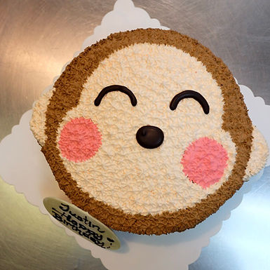 Monkey 馬騮仔 吱花蛋糕