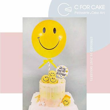 哈哈笑汽球蛋糕