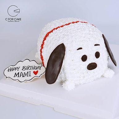 SNOOPY 吱花蛋糕