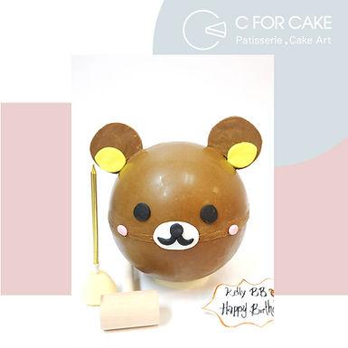 Rilakkuma 鬆弛熊扑爆蛋糕