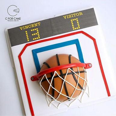 籃球架 半球 扑爆蛋糕