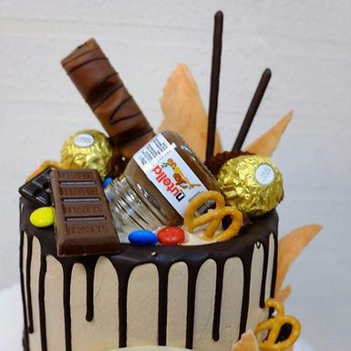 朱古力造型 Cream Cake