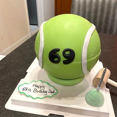 網球 扑爆蛋糕