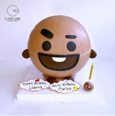 Bt21  扑爆蛋糕