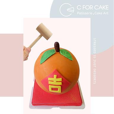 大吉扑爆蛋糕