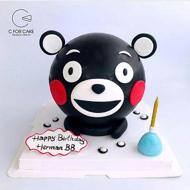 熊本熊 扑爆蛋糕