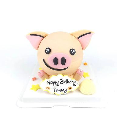 連豬SMILE 扑爆蛋糕
