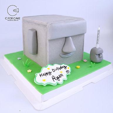 魔艾  扑爆蛋糕  方形