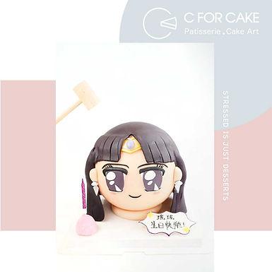 美少女戰士 Sailor Moon 扑爆蛋糕