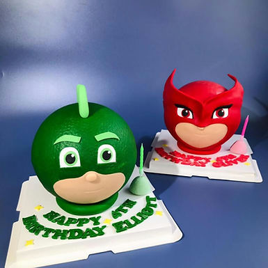 PJ mask  扑爆蛋糕