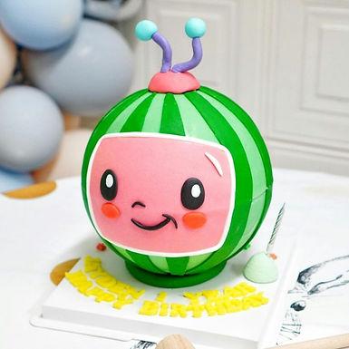 Cocomelon 西瓜BB 扑爆蛋糕