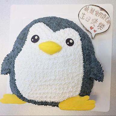 小企鵝 吱花蛋糕