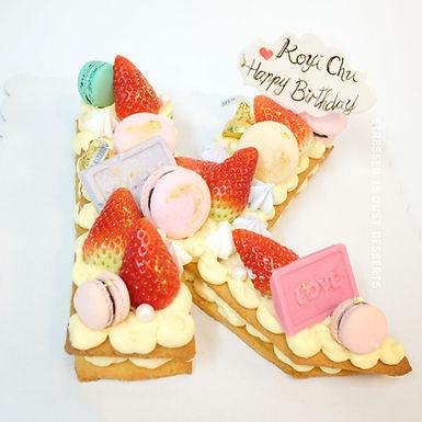 A-Z / No. CAKE 字母數字蛋糕