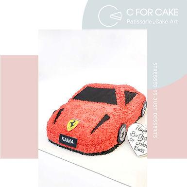 跑車 吱花蛋糕 多色