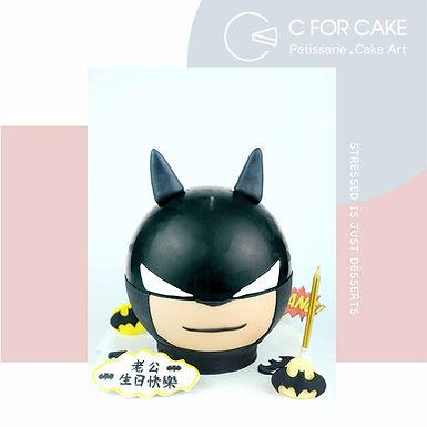 蝙蝠俠 batman 扑爆蛋糕