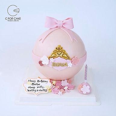 公主球 扑爆蛋糕