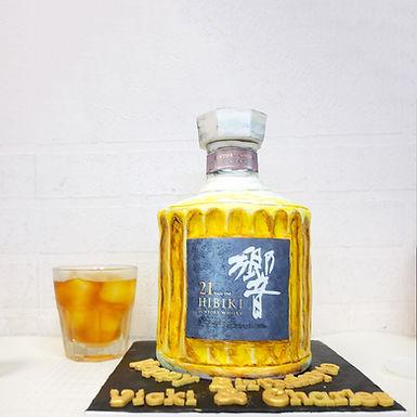 響 威士忌 造型牛油蛋糕
