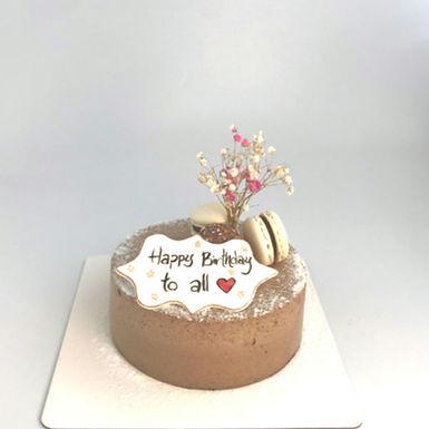伯爵 • 桃緣 mochi夾心慕斯蛋糕