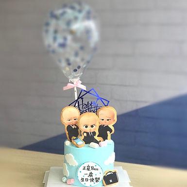 Baby  Boss bb 曲奇 Cream Cake