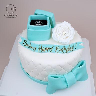 Tiffany Blue 求婚 牛油蛋糕