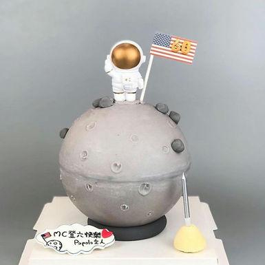 """登""""陸"""" 大壽扑爆蛋糕"""