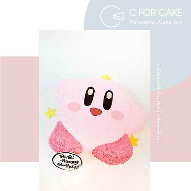 Kirbi 星之卡比吱花蛋糕