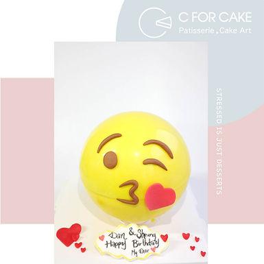EMOJI KISS扑爆蛋糕