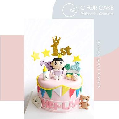 Dear Baby 造型蛋糕