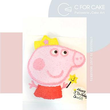 Peppa Pig 吱花蛋糕