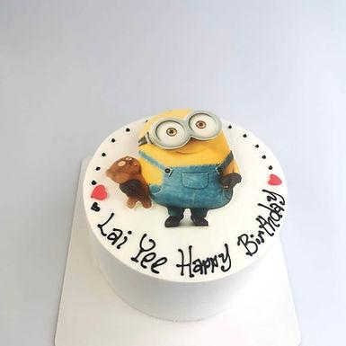 Minion  數碼打印平面Cream Cake