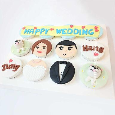 新婚Cup Cake 12件