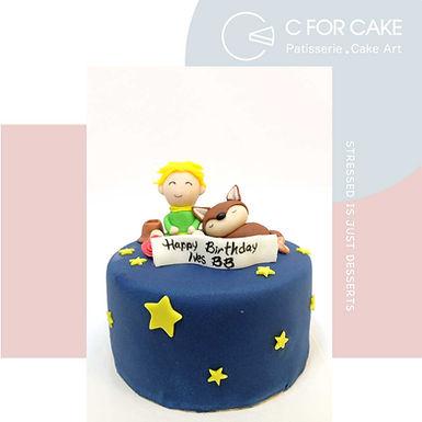 小王子 造型蛋糕