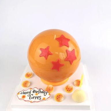 龍珠 扑爆蛋糕