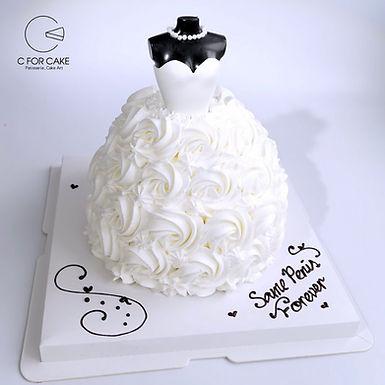 Bride to be 婚嫁 吱花蛋糕
