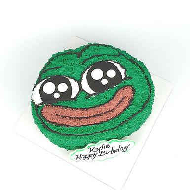 可愛版 Pepe 吱花蛋糕