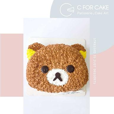 Rilakkuma鬆弛熊 吱花蛋糕