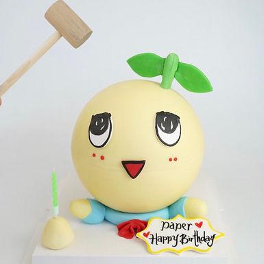 船梨精 扑爆蛋糕