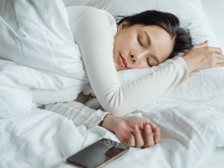 Sleeping with Full Spectrum Hemp Oil