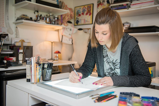 Artist Megan Levans of Megan Hamitlon Weddings