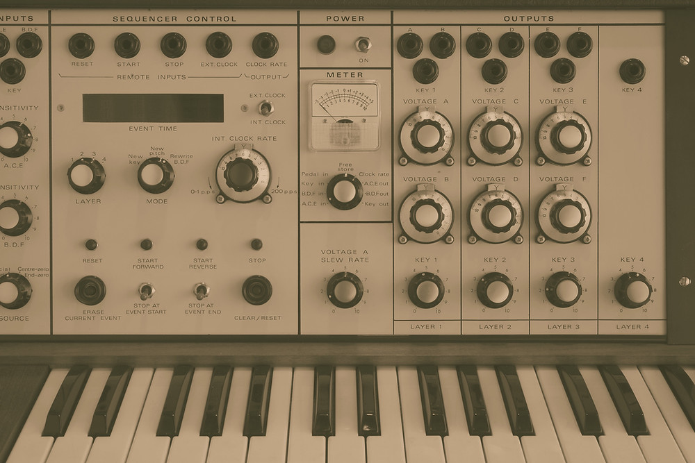 German synthesizer