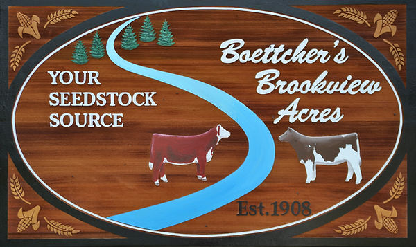 Boettchers Brookview Acres Farm Wisconsi