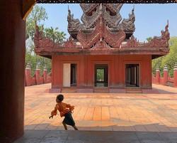 The last emperor.Mandalay, Myanmar.