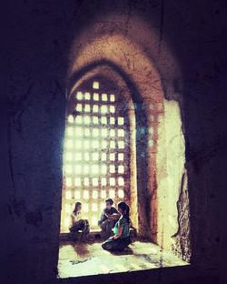Mothers treasure.Bagan, Myanmar.