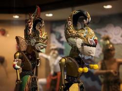 Wayang Golek Puppets.