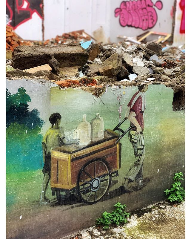 Street art Jakarta.