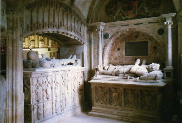 Mausoleum, Berkeley Castle, Gloucestershire.