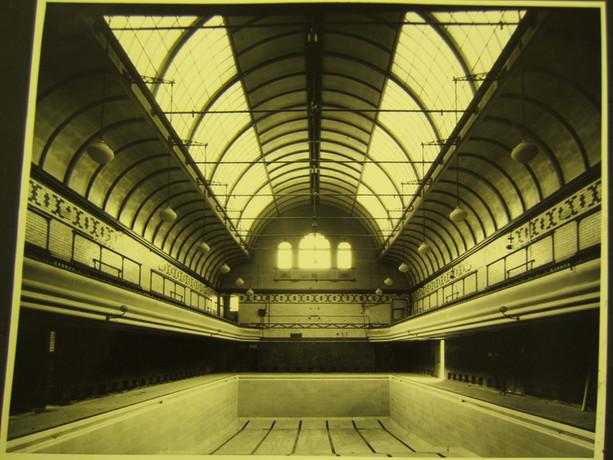 Kentish Town Swimming Baths, London.